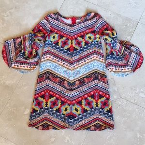 Rare Editions Little Girl's Boho/Hippie Chic Dress